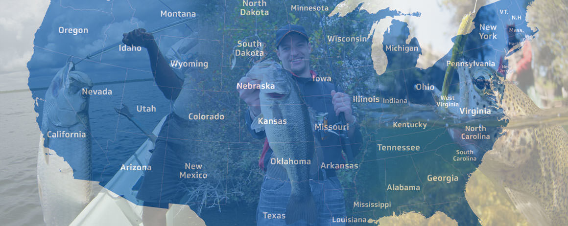 Fishing guides charters bass fishing reports saltwater for Usa fishing report
