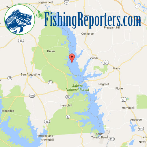 Toledo bend fishing guides fishing reports big bass for Toledo bend fishing report