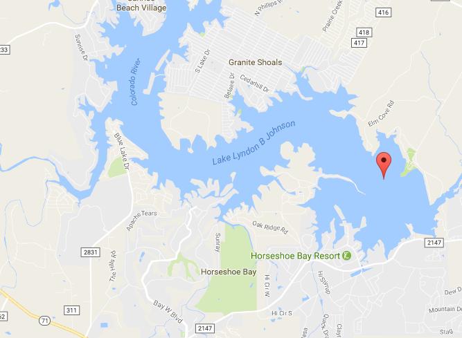 Lake Lyndon B Johnson Fishing Guides Fishing Reports Big Bass - Johnson lake map